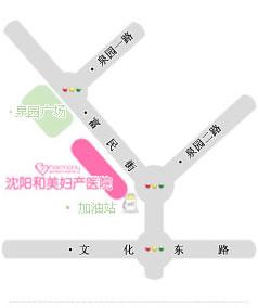 沈阳和美妇产医院地图