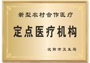 新型农村合作医疗定点医疗机构